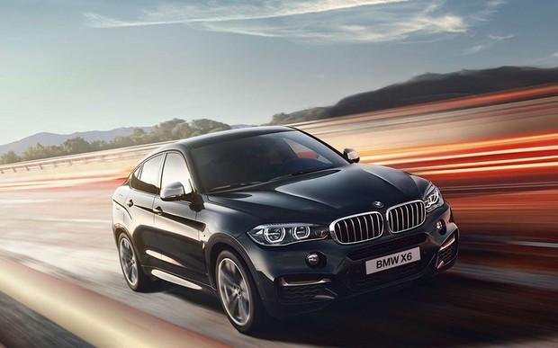 BMW X6 в специальной комплектации с пакетом М Sport по специальной цене.