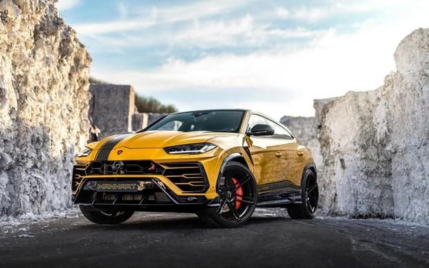 Больше мощи! Lamborghini Urus «прокачали» до 800 л.с.