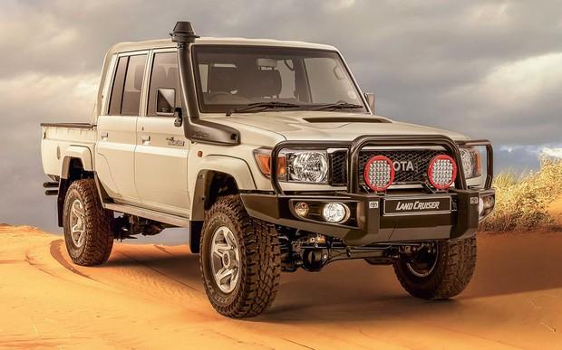 Борозды не испортит. Toyota Land Cruiser 70 получил спецверсию для пустыни. ФОТО