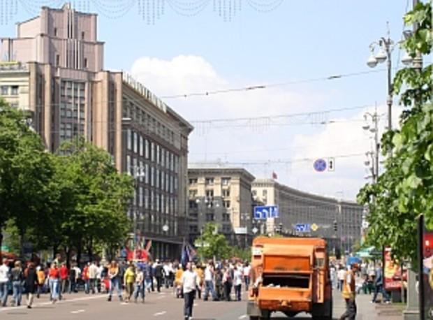 Бригинец: в Киеве не должно быть места палаткам и МАФам
