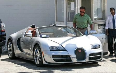 Bugatti Арнольда Шварценеггера купили за 2,5 млн долларов