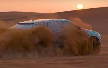 Буря в пустыне: Lamborghini Urus впервые показали на видео