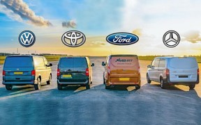 Чей фургон быстрее? «Бусы» от VW, Toyota, Ford и Mercedes сравнили в скорости. ВИДЕО
