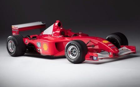 Чемпионский болид Шумахера продают с аукциона