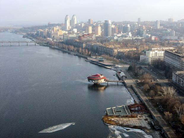 Через 50 лет в Днепропетровске вместо грузодоков появятся бизнес-центры