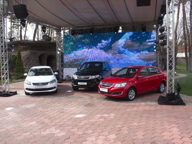 Chery представила в Украине новый Tiggo и седаны Arrizo