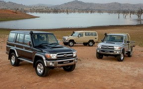 Что общего у Mercedes-Benz G-Класс и Toyota Land Cruiser