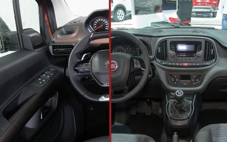 Що вибрати? Fiat Doblo Panorama чи Peugeot Rifter