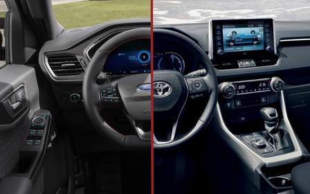 Что выбрать? Ford Kuga против Toyota RAV4