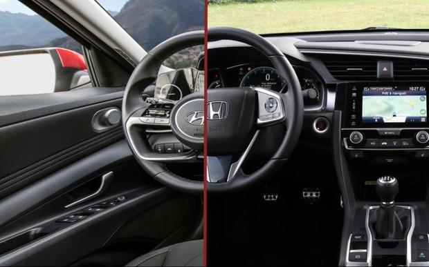 Что выбрать? Honda Civic против Hyundai Elantra
