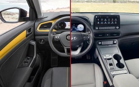 Что выбрать? Hyundai Kona против Volkswagen T-Roc