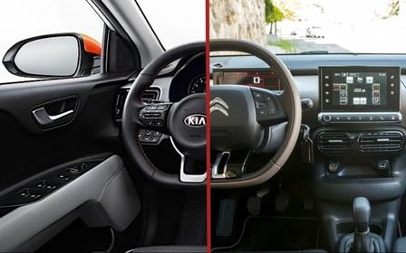 Что выбрать? Kia Stonic против Citroen C4 Cactus