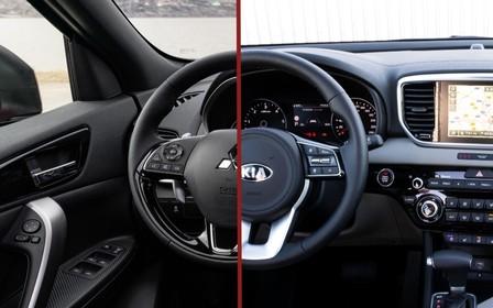 Що вибрати? Mitsubishi Eclipse Cross проти Kia Sportage