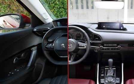 Что выбрать? Peugeot 2008 против Mazda CX-30