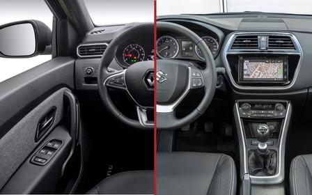 Що вибрати? Renault Duster проти Suzuki SX4