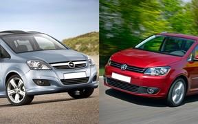 Что выбрать с пробегом? Opel Zafira против Volkswagen Touran