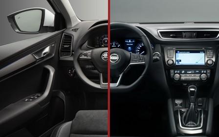 Что выбрать? Skoda Karoq против Nissan Qashqai
