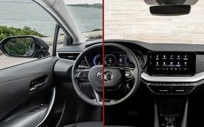 Что выбрать? Skoda Octavia против Toyota Corolla
