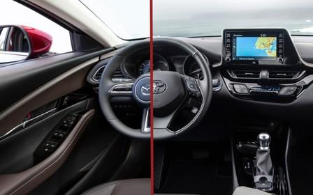 Що вибрати? Toyota CH-R проти Mazda CX-30