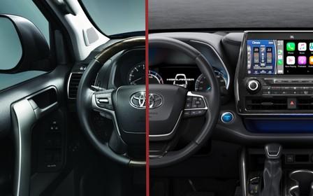 Що вибрати? Toyota Land Cruiser Prado або Toyota Highlander