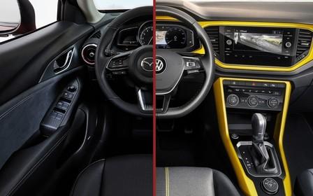 Що вибрати? Volkswagen T-Roc чи Mazda CX-3
