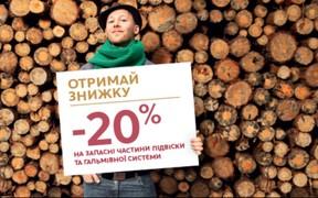 Citroёn готує до зими: -20% на запчастини підвіски та гальм