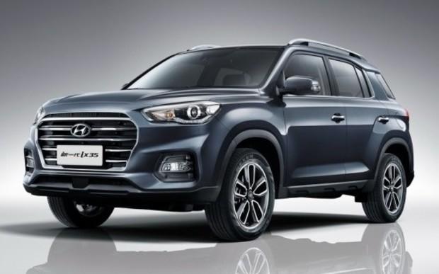 Cнимок таинственного паркетника Hyundai выложили в сеть