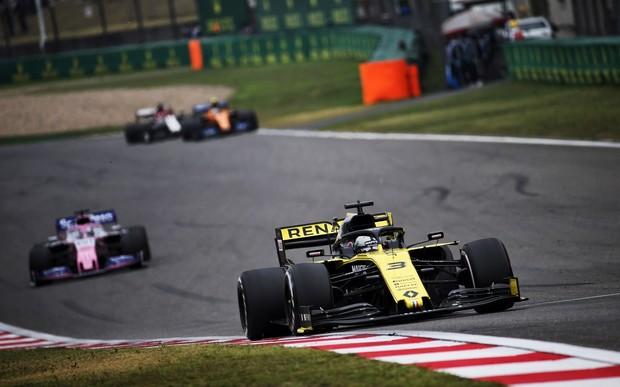 Даніель Ріккардо отримав перші очки на Гран-прі Китаю