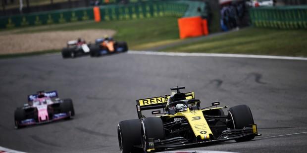 Даніель Ріккардо отримав перші очки на Гран-прі Китаю.