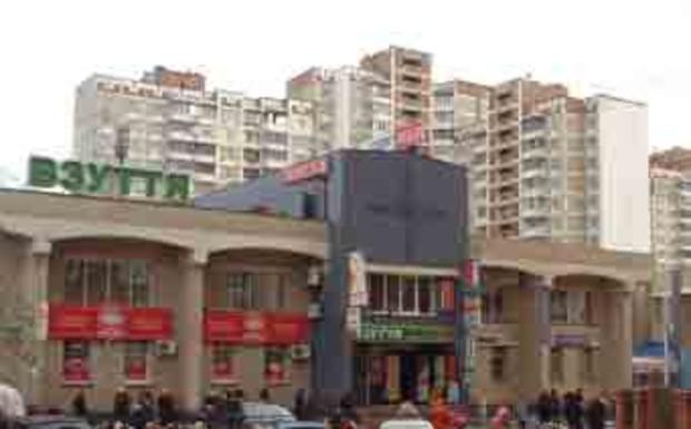 Дарницкий район Киева больше других насыщен торговыми киосками