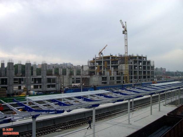Дарницкий вокзал начнут достраивать в 2011