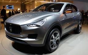 Дебют Maserati Levante состоится в начале 2016 года