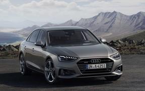 Девочка опять. Audi A4 получила новые моторы, гибридные технологии и адаптивный круиз