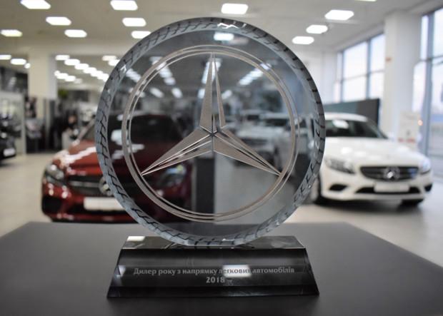 «Дилер года в направлении легковых автомобилей 2018»
