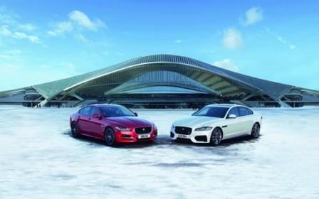 Динамічні седани Jaguar