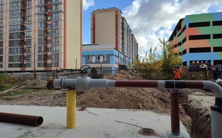 Динамика строительных работ в ЖК Днепровская Брама 2