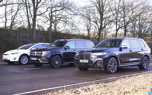 Дизель, безин или электротяга? На драге сравнили BMW, Mercedes и Tesla. ВИДЕО