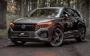 Дизельный Volkswagen Touareg прокачали до 500 лошадиных сил