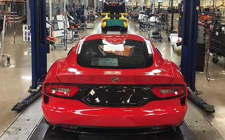 Dodge свернул производство суперкара Viper