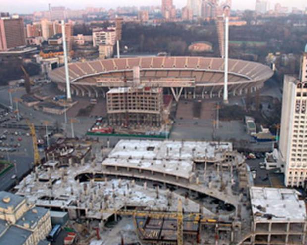 Дома в зоне НСК «Олимпийский» реставрируют