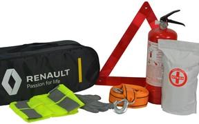 Дорожні набори в нових автомобілях Renault