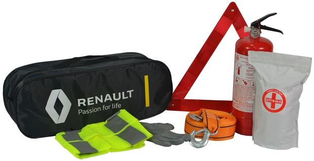 Дорожные наборы в новых автомобилях Renault