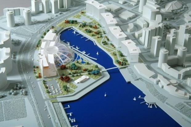 Экологи утверждают, что в Киеве, на берегу Днепра, под видом аквапарка строят... ТЭЦ