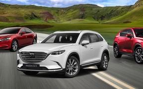 Ексклюзивна літня пропозиція від Mazda - тільки у липні купуйте Mazda6 або кросовери Mazda надзвичайно вигідно!