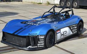 Экспериментальный водородный автомобиль поставил рекорд скорости на Нюрбургринге