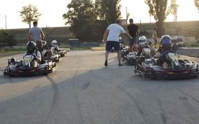 Экватор Чемпионат Украины по хобби-картингу прошел в г.Каменское