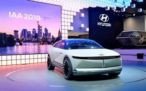 Электрический кросс-хэтч Hyundai 45 EV 2021