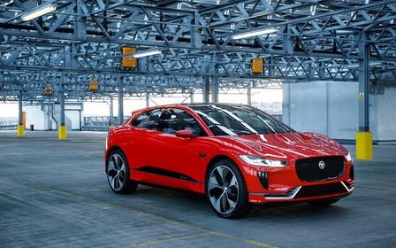 Электрический кроссовер Jaguar I-Pace пошел на конвейер