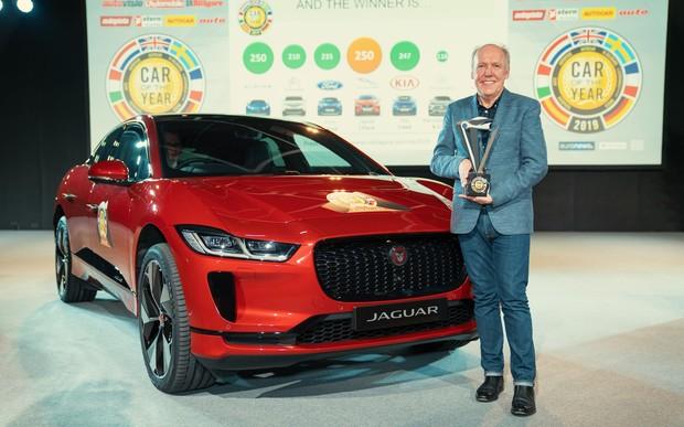 Электрический кроссовер Jaguar i-Pace стал Автомобилем года. Удивлены?