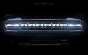Электрический пикап Hummer: первые фото